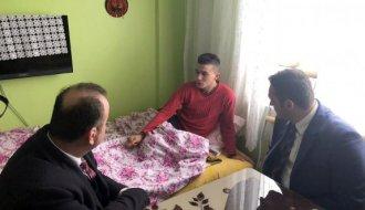 CHP'li Karadeniz'den Afrin gazisine geçmiş olsun ziyareti - Vitrin Haber
