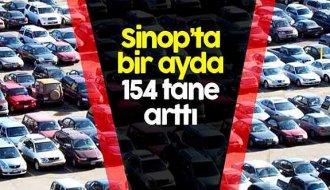 Sinop'ta araç sayısı arttı - Vitrin Haber