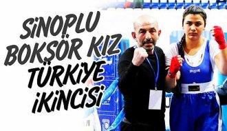 Sinoplu boksör Türkiye 2.'si oldu - Vitrin Haber