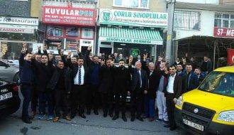 Sinoplu ülkücüler Çorlu'da teşkilatlandı - Vitrin Haber