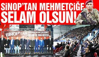 Sinop'ta gönüller Mehmetçik için attı - Vitrin Haber
