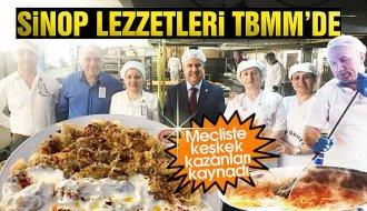 TBMM mutfağı Sinop yemekleriyle şenlendi - Vitrin Haber