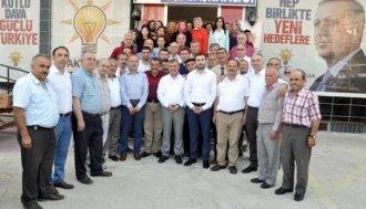 AK Parti'den teşekkür ziyaretleri - Vitrin Haber