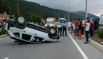Sinop Samsun yolunda kaza - Vitrin Haber