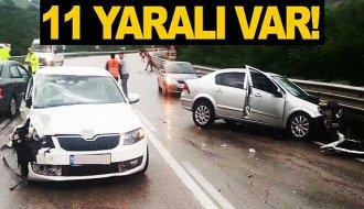 Sinop'ta 2 kaza: 11 yaralı - Vitrin Haber