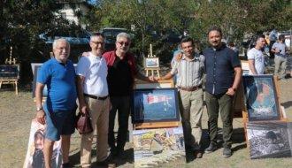 Boyabat Bağlıca köyünde karma sergi açıldı - Vitrin Haber