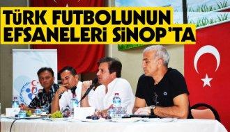 Futbolun efsaneleri Sinoplu gençlerle buluştu - Vitrin Haber