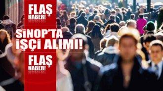 Sinop'ta 450 kişi istihdam edilecek - Vitrin Haber