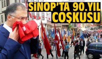 Sinop'ta 90. yıl coşkusu - Vitrin Haber