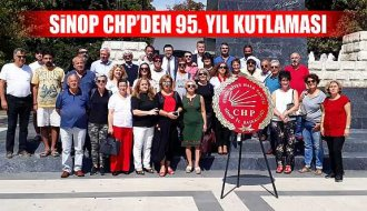 Sinop CHP'den 95. yıl kutlaması - Vitrin Haber
