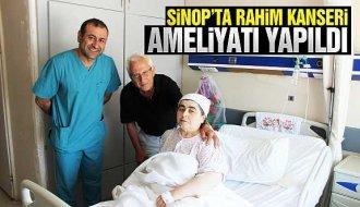 Sinop'ta başarılı rahim kanseri ameliyatı - Vitrin Haber