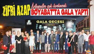 Zifri Azap filminin galası Boyabat'ta yapıldı - Vitrin Haber