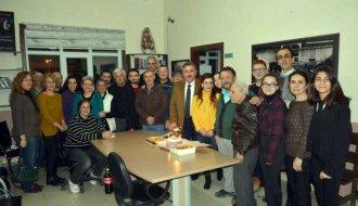 Başkan Belovacıklı'dan TSM korosuna ziyaret