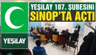 Yeşilay Sinop Şubesi başkanını seçti