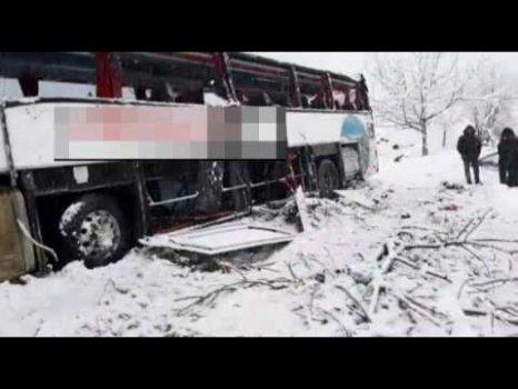 Sinop Oobüs Kaza Yaptı 3 Ölü