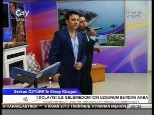 Çay Tv Serkan Öztürkle Sinop Rüzgarı Erol Şahin Serkan Öztürk 2