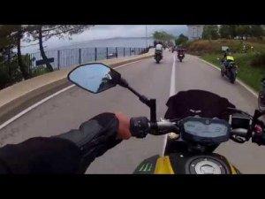 Sinop motofest konvoy / Biraz kıydık motorlara ama , biz de varız demek istedik