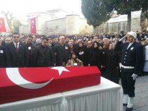 Şehit Polis Hakan Tanrıkulu toprağa verildi
