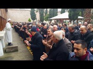 Sinop Halep Şehitleri İçin Gıyabi Cenaze Namazı